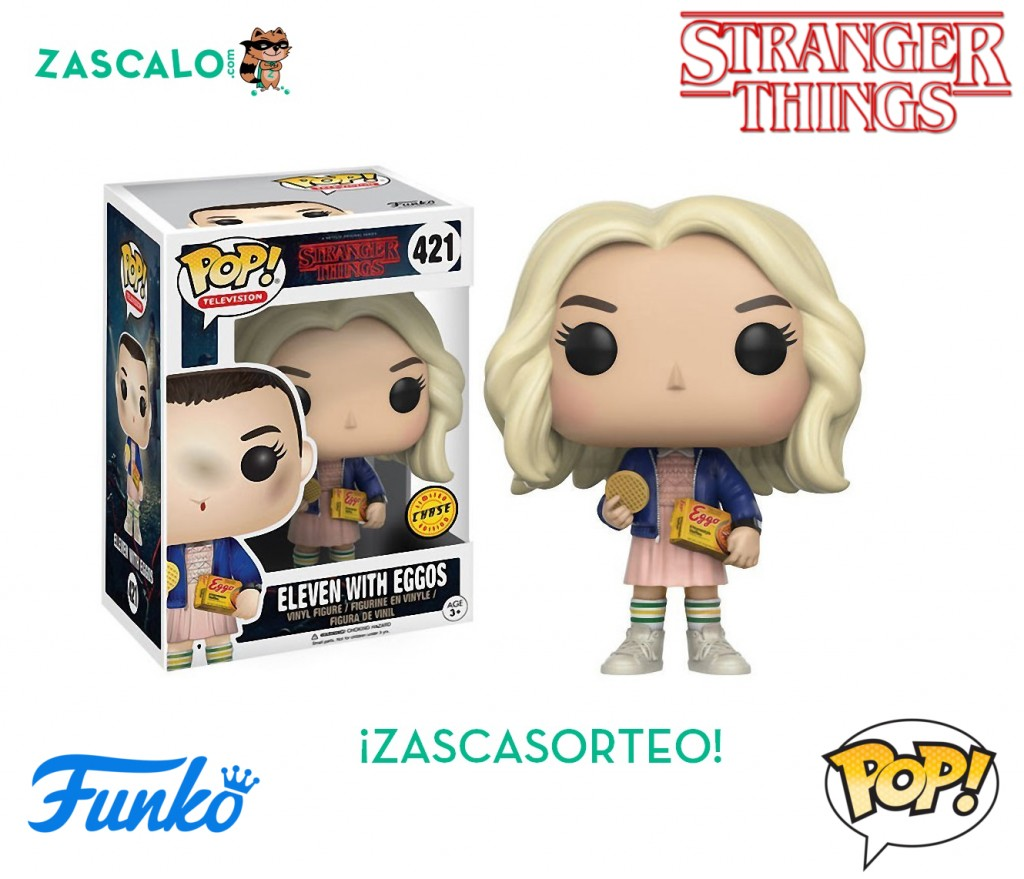 Figura Funko Pop Eleven With Eggos Chase Stranger Things